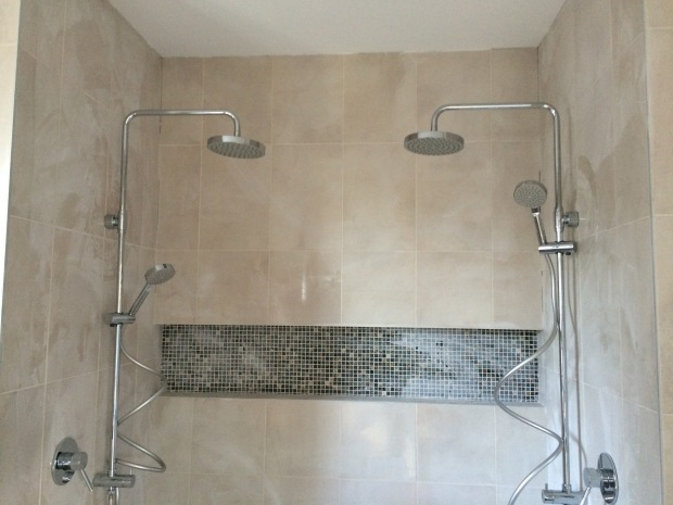 Porcher Cygnet Round Dual Shower Rail